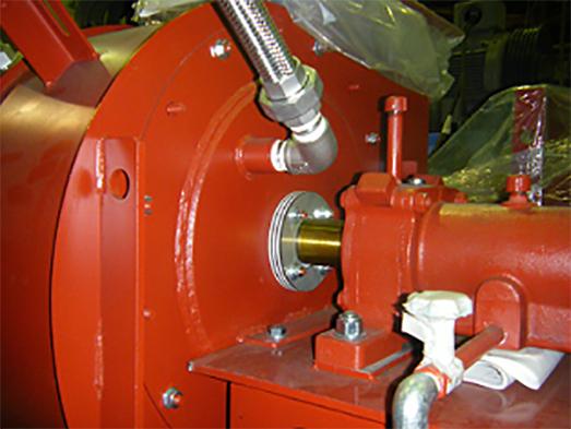 ガス漏洩防止軸封部バランスパイプ